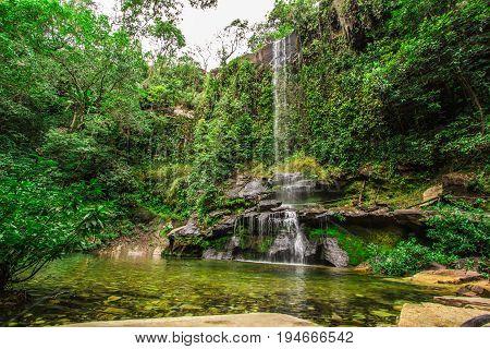 Rosario Waterfall in Pirenopolis City Goias Brazil