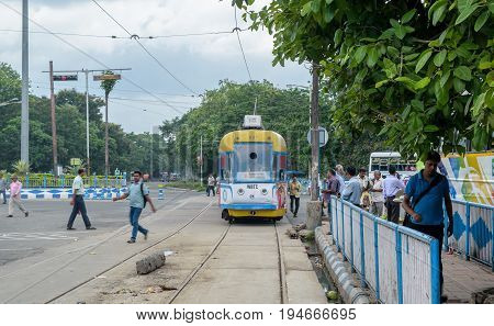 29 June, 2017. Trams in Kolkata is a tram system in the city of Kolkata, West Bengal, India, operated by the Calcutta Tramways Company (CTC).