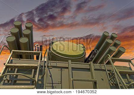 Pantsir-S1 (SA-22 Greyhound) missile and anti-aircraft weapon system
