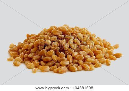 Heap Of Spelt Groats