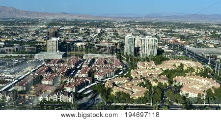 Las Vegas, Nevada - Usa - June 05,2017 - Skyvue Las Vegas