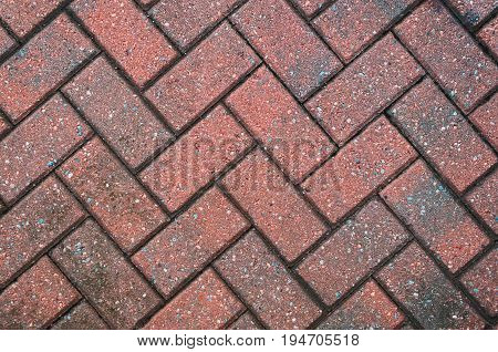 Block Paving Background, with copy space for design