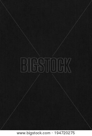 Laid Black Paper Corrugated Texture Background.