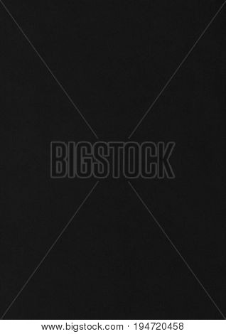 Smooth Black Paper Corrugated Texture Background.