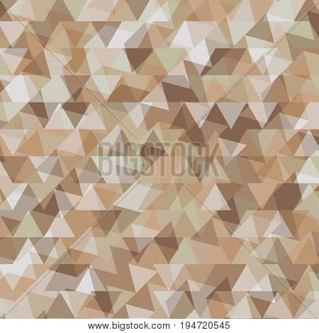 Abstract background with geometry earth tone backdrop, stock vector