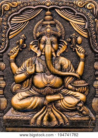 The Hindu God Ganesha Lord of Success.