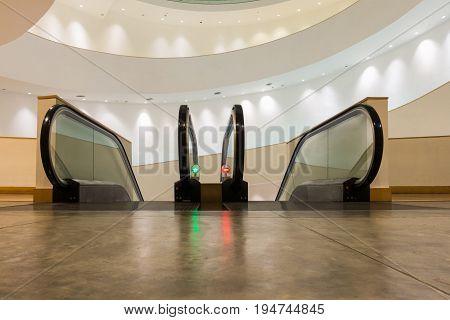 Interior decoration and escalator, Indoor concept design