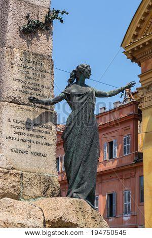 Monumento Alla Liberta Modena Emilia Romagna Italy