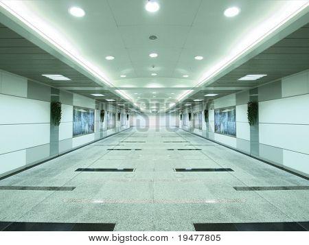 Entrance of subway