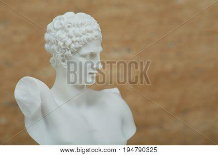 Statue of Hermes, ancient Greek god of transportation.