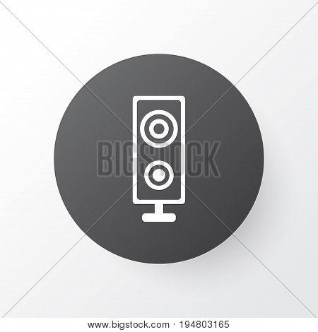 Loudspeaker Icon Symbol. Premium Quality Isolated Speaker Element In Trendy Style.