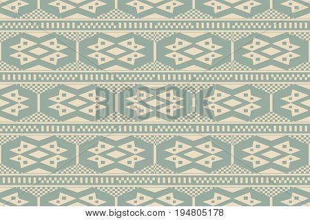 Antique Seamless Background Aboriginal Check Square Geometry