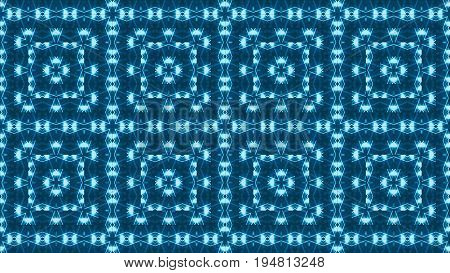 Abstract background with technology kaleidoscope. 3d render