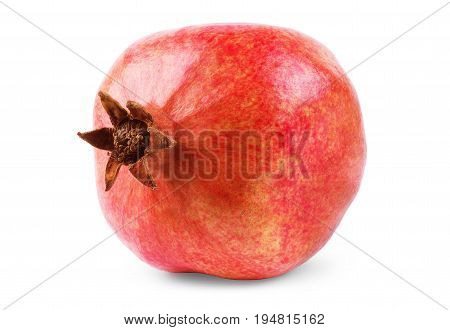 Pomegranate isolated on white background Section, Vitamins, Exotic, Fruits, Antioxidant, Grenadine, Granada, Fruta, Granadas