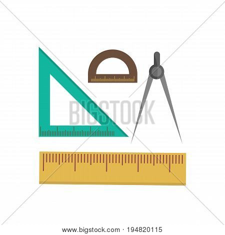 Color School Measuring Rulers Vector Photo Bigstock