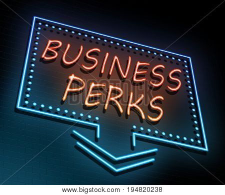 Business Perks Concept.