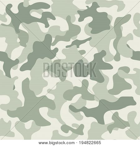 Seamless camouflage pattern. Swamp style. Vector illustration
