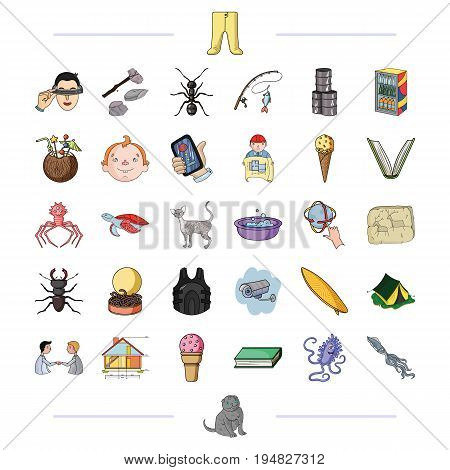 tourism, progress, business and other  icon in cartoon style., fauna, communication, leisure, icons in set collection.