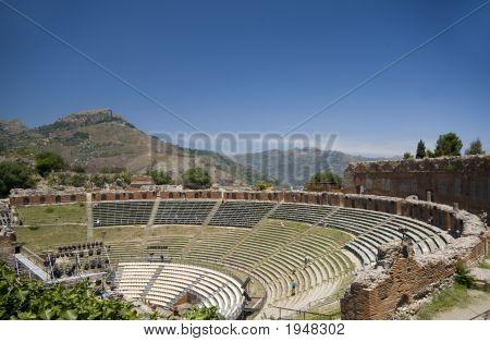 Taormina Mt. Aetna View
