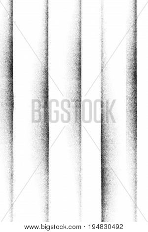 Horizontal photocopy texture lines on white background
