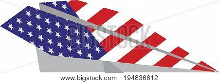 American aviation paper plane American aviation paper plane