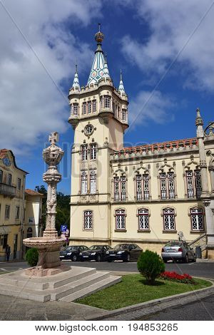 City Hall In Sintra, Portugal