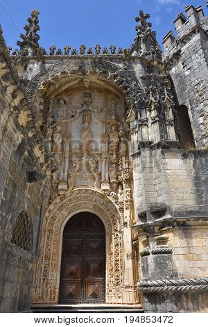 The Convent Of Christ Roman Catholic Monastery In Tomar, Portugal