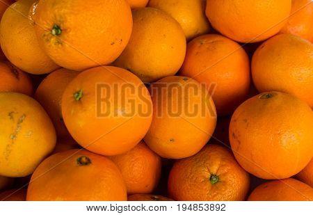 Oranges Background Or Texture