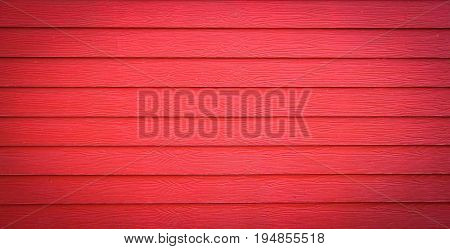 The red surface is a wooden lumber house. Bright colors can be used in the background.