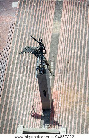 Bolivar Condor Monument