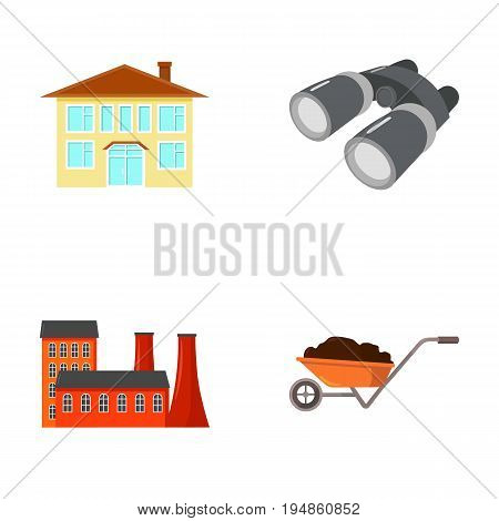 enterprises, industry, hunting and other  icon in cartoon style.transportation, loading, education icons in set collection.