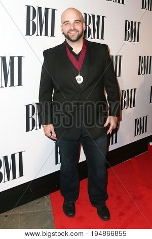 NASHVILLE, TN-NOV 3: Recording artist Johnny Bulford attends the 63rd annual BMI Country awards at BMI on November 3, 2015 in Nashville, Tennessee.