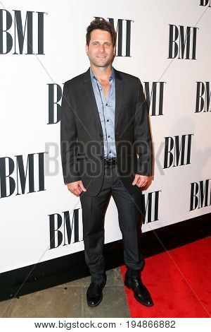 NASHVILLE, TN-NOV 3: Recording artist Matt Thomas of Parmalee attends the 63rd annual BMI Country awards at BMI on November 3, 2015 in Nashville, Tennessee.