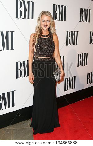 NASHVILLE, TN-NOV 3: Recording artist Brooke Eden attends the 63rd annual BMI Country awards at BMI on November 3, 2015 in Nashville, Tennessee.