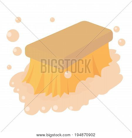 Wet cleaning icon. Cartoon illustration of wet cleaning vector icon for web isolated on white background