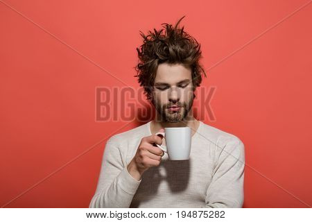 Man With Cup