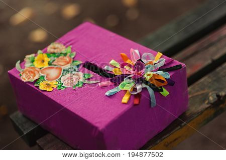 Box For Wishes And Money For Wedding