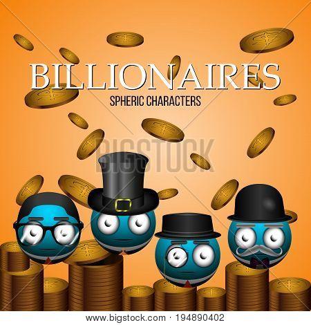 Set Of Billionaire Emotes