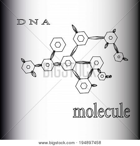 Atomic Compound Of Dna Molecules