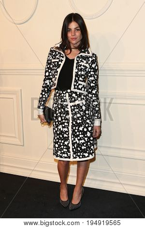 NEW YORK-MAR 31: Art Director/Model Julia Restoin Roitfeld attends the CHANEL Paris-Salzburg 2014/15 Metiers d'Art Show and Party at the Park Avenue Armory on March 31, 2015 in New York City.