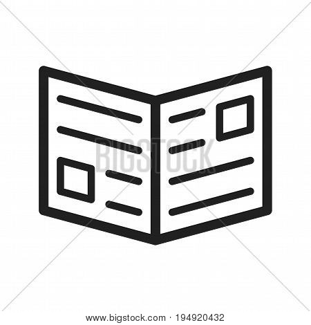 Press, release, news icon vector image. Can also be used for IT Services. Suitable for use on web apps, mobile apps and print media.