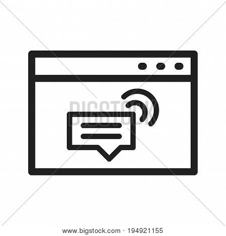 Design, website, support icon vector image. Can also be used for IT Services. Suitable for mobile apps, web apps and print media.
