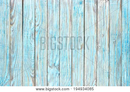 Wood The Texture, A Background Of Wooden Blue Boards.