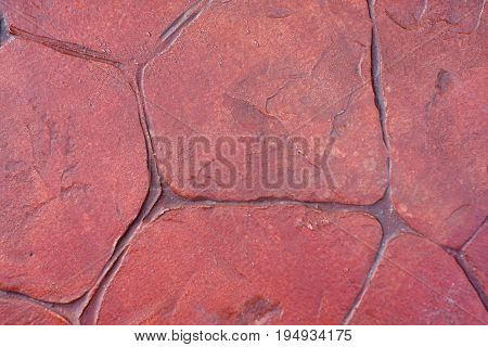 Close up of rock texture floor for background.