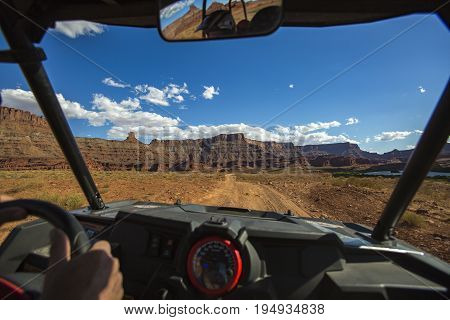 Moab Utah is a wonderland of trails