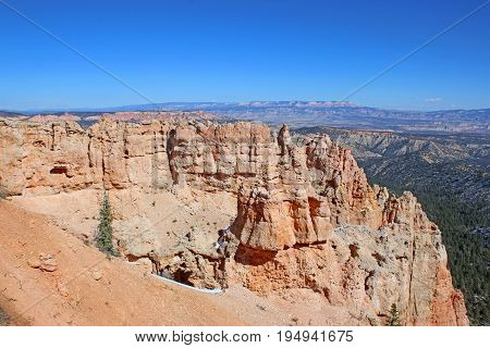 Bryce Canyon National Park, Utah in the winter