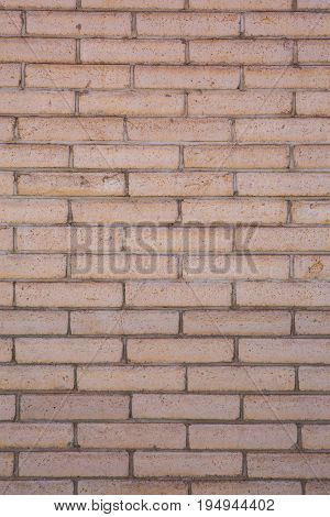 Stone and grout in between during the day