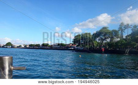 Port Of Lahaina, Maui, Hawaii