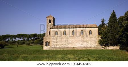 France, Provence, Luberon, Lourmarin: The Protestant Temple