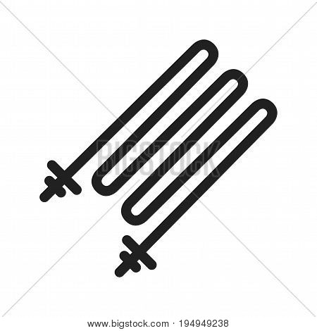 Heating, electric, element icon vector image. Can also be used for Climatic Equipment. Suitable for use on web apps, mobile apps and print media.